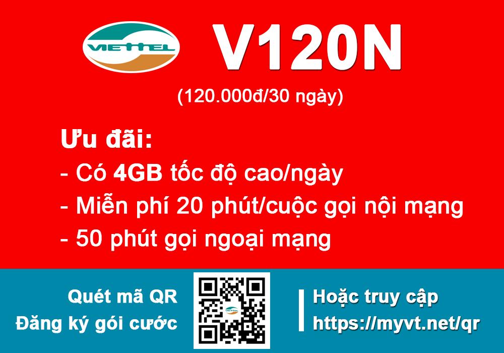Sim Viettel V120N
